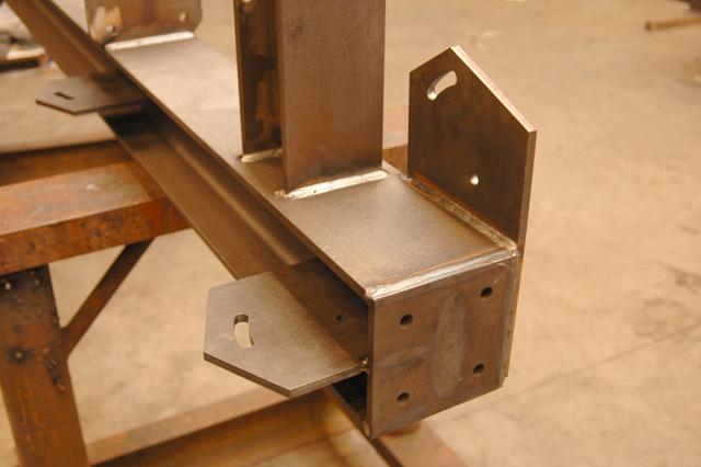 Laswerk aan staalconstructie
