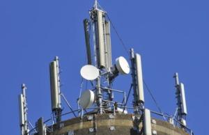Staalconstructie voor telecom zendmast