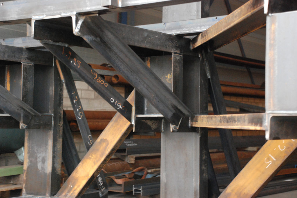 Complexe staalconstructie
